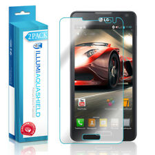 2x iLLumi AquaShield Crystal HD Clear Screen Protector Shield for LG Optimus F6