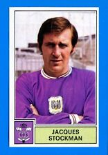 FOOTBALL 1972-73 BELGIO -Panini Figurina-Sticker n. 19 -STOCKMAN-ANDERLECHT-Rec