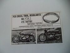 advertising Pubblicità 1971 PUKI (PANCALIERI) e MONTESA CROSS 125 175 250/CZ