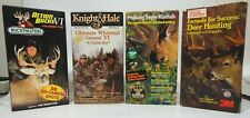 Deer Hunting Videos 5 Vhs Tapes Buck Masters Knight & Hale Rare Field & Stream