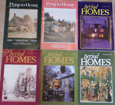 Period Home & Period Homes Magazines 6 Issues 1981-86, Ice Houses, Wrought Iron