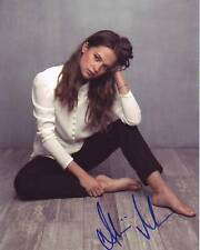 ALICIA VIKANDER Signed Autographed Photo