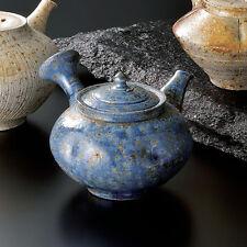 Tokoname yokode kyusu teapot : TAISUKE SHIRAIWA 280cc - ceramic mesh w wood box