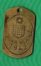 NDH CROATIA PAVELIĆ  USTAŠKA MALDEŽ 1942 -  - BOX  0016 -   SCARE