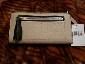 NWT Kate Spade Chester Street Neda Pebbled Leather Wallet New