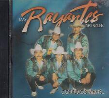 Los Rayantes Del Valle Corridos y Mas  CD Nuevo Sealed