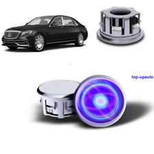 Floating LED Light Illuminated Wheel Center Caps For Maybach Cars 75mm 2.95in