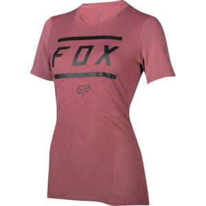 Fox Racing Women's Ripley s/s Bar Jersey Dusty Rose