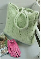 Felted Bag To Make Knitting Pattern from Magazine One Size