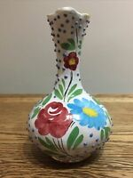 Vintage Italian Decorative Jug Made In Italy. Floral 15 Cm