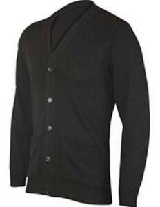 Cardigan Button Fasten plain casual wear black light grey navy beige S M L XL 2x