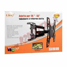 "SOPORTE DE PARED ARTICULADO TV 26 28 29 32 40 42 46 48 49 50 a 55"" ESTRIBO"