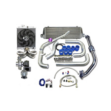 CXRACING Turbo Intercooler Kit For 1988-2000 Honda Civic B16 B18 B-SERIES