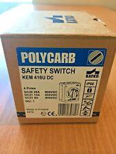 Katko Polycarb DC Isolator Safety Switch KEM 416U DC - New !