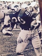 AFL RB Keith Lincoln Auto 8x10 Photo Buffalo Bills San Diego Chargers coa