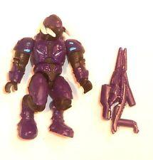 Halo Mega Bloks cifras ~ 2012 Convenant Elite asceta (púrpura) & Rifle de aguja