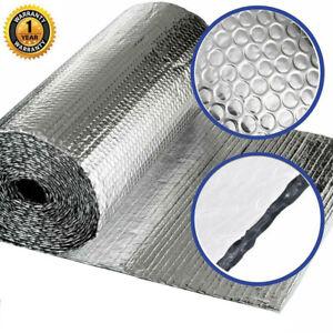 Vapour Barrier Thermal Insulation Aluminium Foil Membrane - 1.2 x 50m 40m 25m