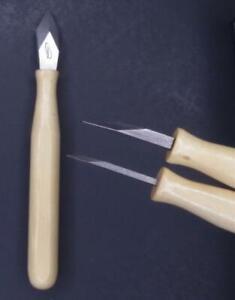 iGaging marking striking scribe scribing thick or thin knife dual blades