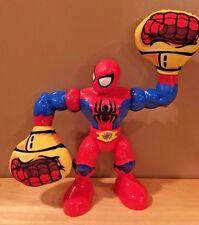 "Heroes Marvel Super Hero Adventures Sling Action Spider-Man Figure~9.5"" TALL"