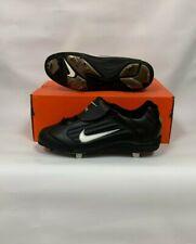 Nike Mens Air Slider Cleats Black/White 9.0 304804