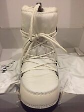 NEW W/ TAGS MONCLER LOGO SNOW SKI MOON WINTER BOOTS SHOES