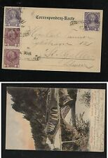 Austria  111a (2) , 112(2) on post card      KEL0108