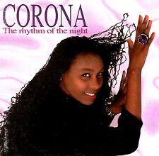"""CD - CORONA - THE RHYTHM OF THE NIGHT (ITALO)  INCL. HIT """"BABY BABY"""" NEW LISTEN"""