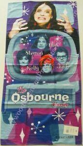 Ozzy Osbourne Family Beach Towel rocker velour gift TV show new