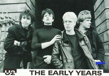 Postkarte + U2 + The Early Years + Motiv Nummer 1 +