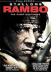 Rambo (DVD, 2008, Canadian Pan and Scan) Brand New Sylvester Stallone