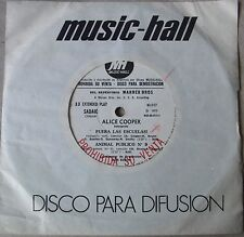 "ALICE COOPER School´s Out SOUTHAMERICA 7"" EP PROMO 1973 Split FACES Rod Stewart"