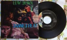 "CANNED HEAT / LOW DOWN - TIME WAS - 7"" (Italy 1969)"