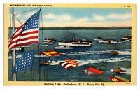 Holiday Lake, Bridgeboro, NJ Postcard *6J27
