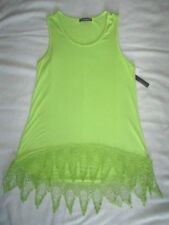 New! $59 Chelsea & the hi lo size S small blouse shirt tank top sleeveless green