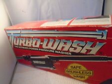 VINTAGE Turbo-Wash The Ultimate Power Pressure Washer. Made In USA MODEL-1000
