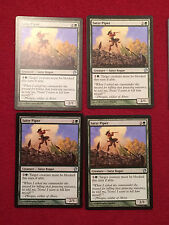 MTG X4 Satyr Piper Theros Magic the Gathering Green Creature Cards Uncommon