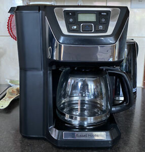 Russell Hobbs Chester Grind and Brew Coffee Machine, Black - 22000   Quite Brew