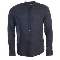 VILEBREQUIN Shirt Navy Cotton Size Medium RRP £169 TR 228