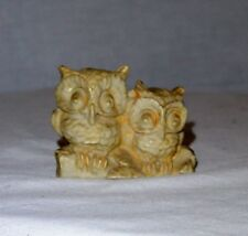Carved Owl - Small Stone Planter Decoration