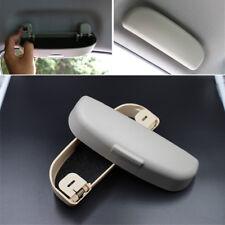 Grey Car Sunglasses Holder Glasses Case Cage Storage Box Auto ABS Accessories