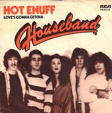 "HOUSEBAND ‎– Hot Enuff (1979 FUNK VINYL SINGLE 7"" DUTCH PS)"