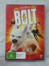 "KIDS MOVIE "" Bolt "" DVD - Disney Classics - John Travolta, Miley Cyrus G RATED"