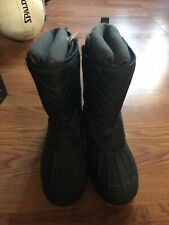 nautica Womens Winter Boots Size 5 Black