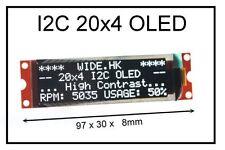 IIC / I2C 2004 20x4 OLED Module Display - For Arduino / PIC / AVR / ARM