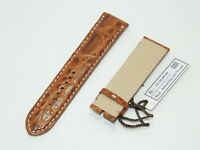 HandCrafted JAEGER-LECOULTRE Master Control Watch Band Brown Alligator 22/20 mm