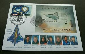 [SJ] Hungary Austria Joint Space Shuttle Mission 2003 Astronomy (FDC) *dual PMK