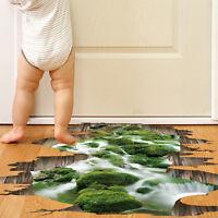 3D Wasserdicht Wandtattoo DIY Zimmer Zuhause Boden Wand Deko Sticker Aufkleber!