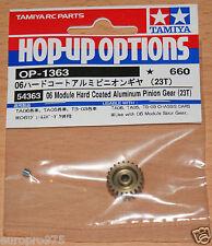 Tamiya 54363 06 Module Hard Coated Aluminum Pinion Gear (23T) (TA05/TA06/TT02)