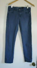 AG Adriano Goldschmied Size 28R The STEVIE ANKLE Slim Straight Blue Jeans Pants