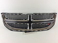 2011-2015 Dodge Caravan Front Radiator Grille Chrome and Black new OE 68088969AC
